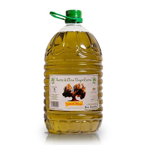 foto aceite de oliva de Jaén - garrafa 5 litros virgen extra linaoliva