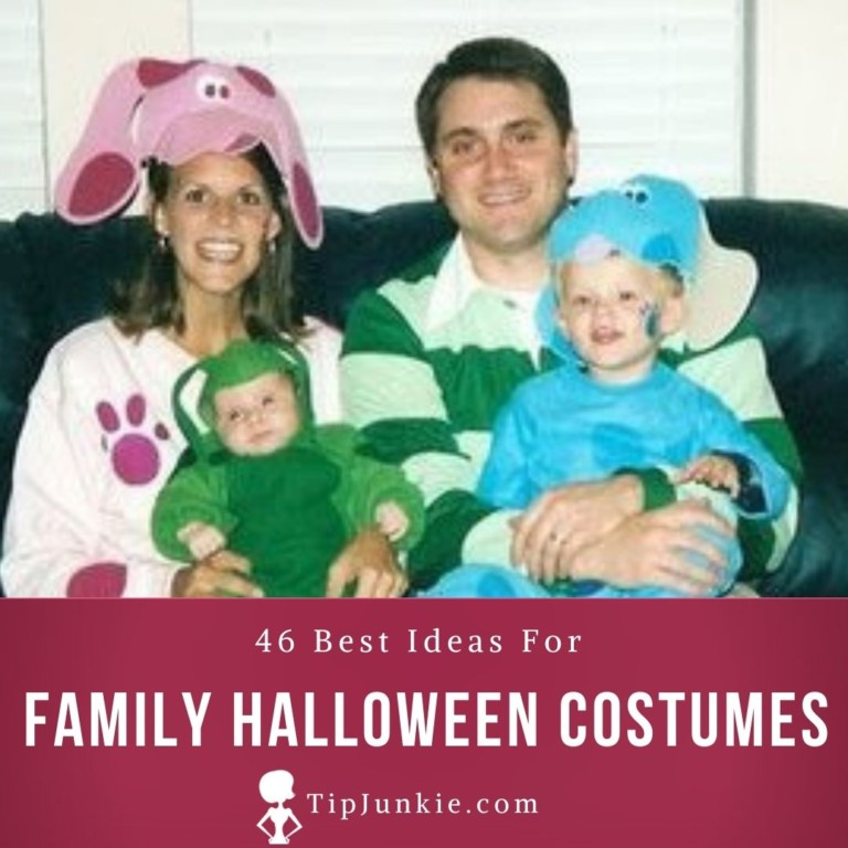 Many of us put off planning a halloween costume only to realize suddenly that halloween is just days away. 46 Best Family Halloween Costume Ideas Tip Junkie