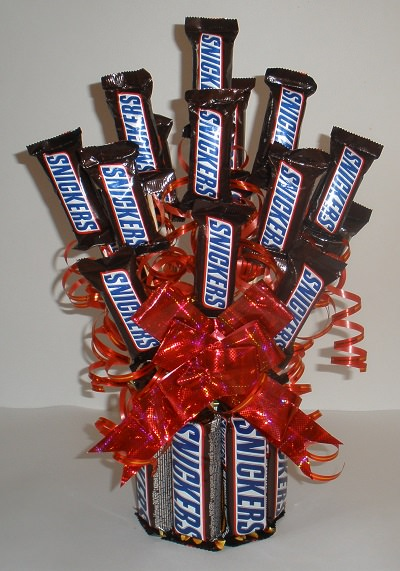 DIY Snickers Candy Bouquet T Tip Junkie