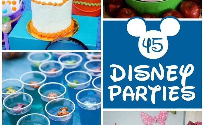 45 Disney Movie Inspired Kid Parties Wow Tip Junkie