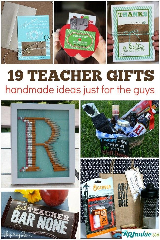 19 Best Teacher Appreciation Gifts For Men Homemade