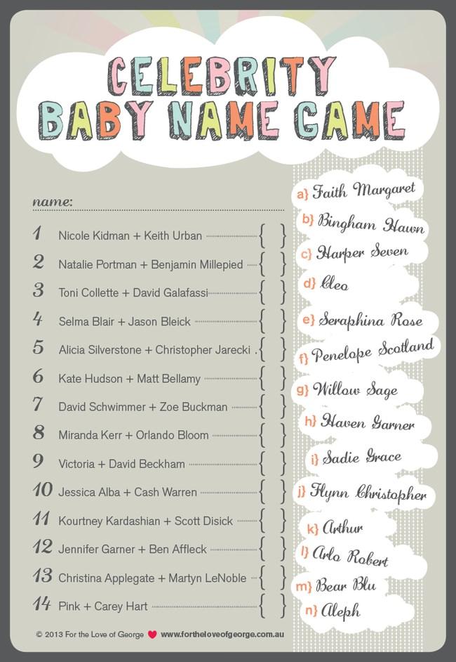 Baby Shower Celebrity Baby Quiz : shower, celebrity, Shower, Jeopardy, Viewer