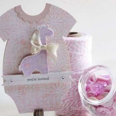 Baby Shower Invites For A Handmade Card Ideas