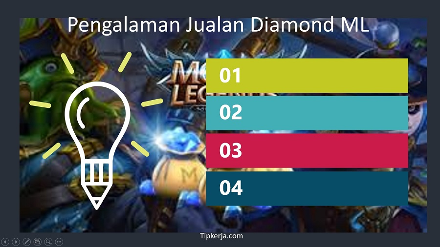 jualan diamond mobile legends