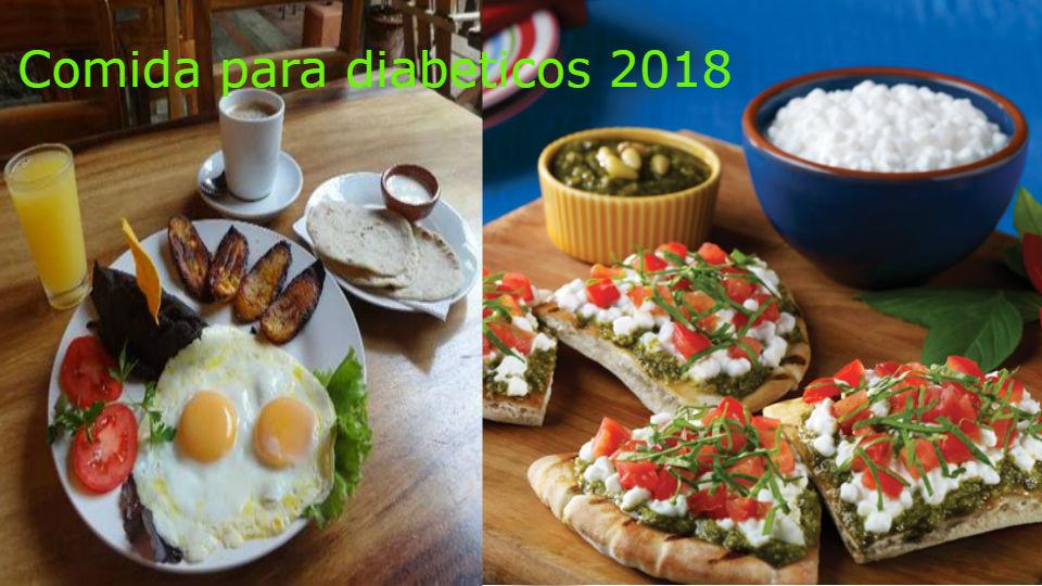 Comidas para diabeticos mes julio 2018  tipo de diabetes