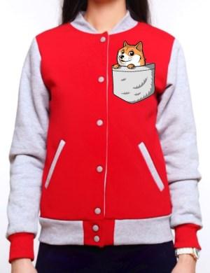 Куртка Бомбер с печатью (Цифровая печать)