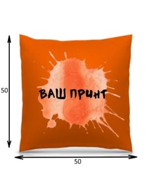 Подушка с печатью 3D (50*50 см)