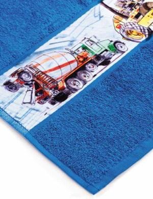 Махровое полотенце с вашей печатью
