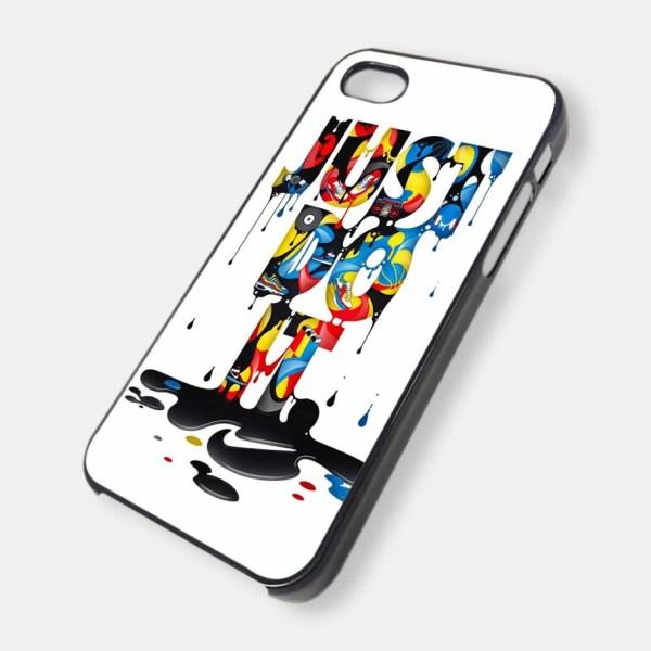 Пластиковый 2D чехол для iPhone с печатью
