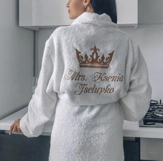 Халаты с вышивкой заказать