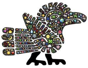 arte azteca plumas