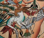 La Pintura Egipcia, representación de dioses