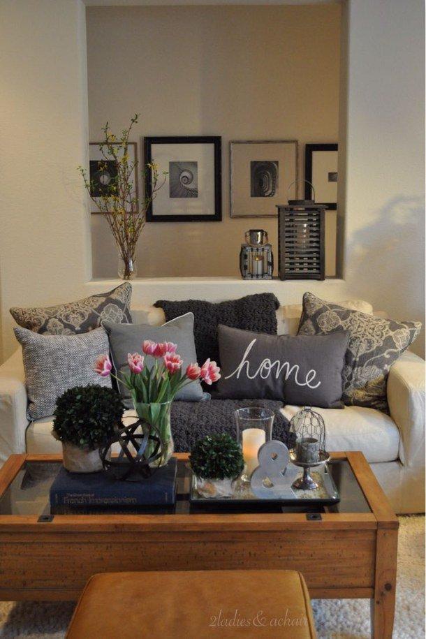 Modern nappali inspirációk: elegáns dohányzóasztal dekorációk