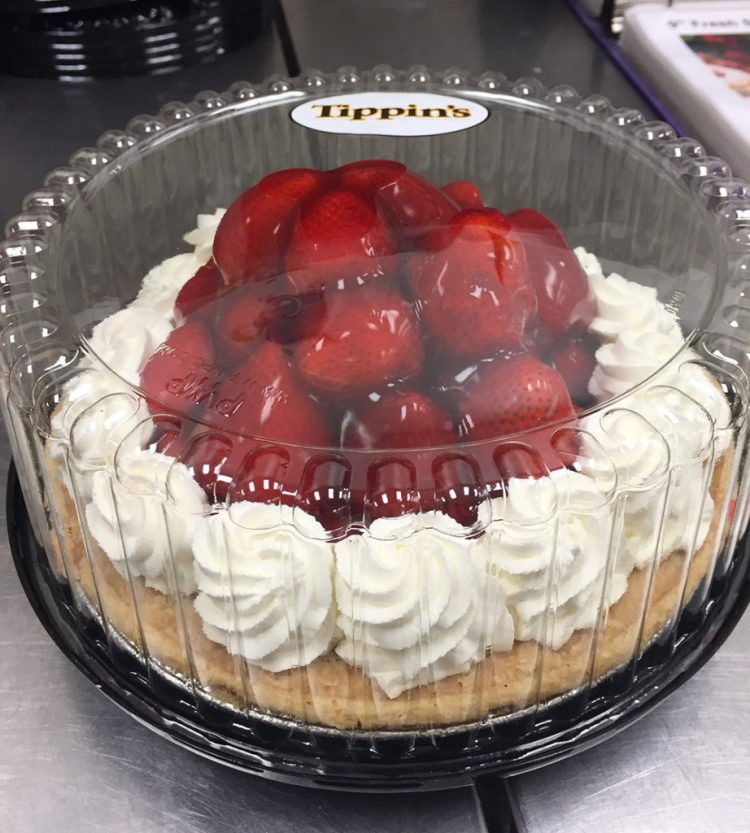 Tippins Strawberry Pie