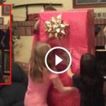 Ezt a kislányt egy szerető családban adoptálták, de a karácsonyi meglepetése volt élete legeslegjobb ajándéka!