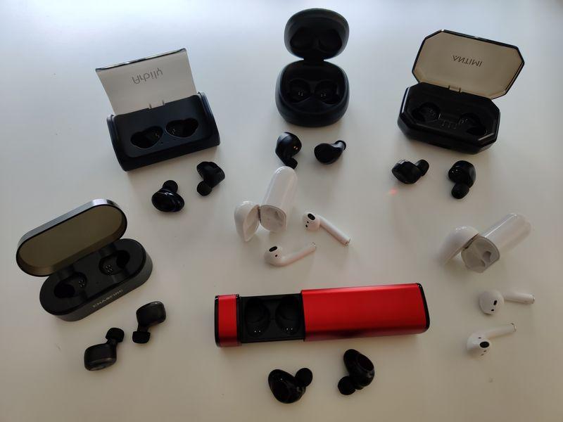 VOOE Kopfh/örer Kabellos In Ear Ohrh/örer Sport Wireless Kopfh/örer Bluetooth 5.0 Headset mit LED Digitalanzeige 3500mAh 120 Stunden Spielzeit IPX7 Wasserdicht f/ür iPhone Android Bluetooth Kopfh/örer