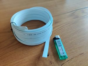Dünnes Kabel für 230V, als Verlängerungskabel oder für Mehrfachsteckdose (1)