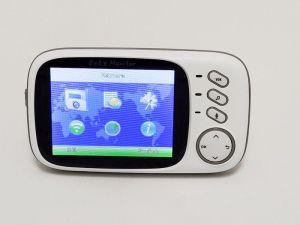GHB & Syosin Babyphone im Test - Menü des Baby Monitor