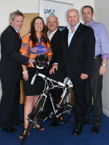 David Ryan, Pamella Mansell, Dermot Cunningham, Sean Gallagher (Patron) and Greg Barry.