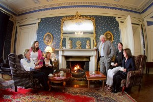 B&B operators in Co Tipperary pictured with Bernie Leonard, Shannon Development Tourism Officer for North Tipperary demonstrating a taste of Irish hospitality at the launch of the new B&B Brochure in Inch House (l-r): Valerie Beamish, Saratoga Lodge; Maureen Byrne, Inch House; Bernie Leonard, Shannon Development; Pierce Duggan, the Castle Country House, Two-Mile-Borris; Anna Stakelum, Boherna Lodge and Attracta Lyons, North Tipperary County Council. Missing from the photograph is Mark Molloy, Crossogue Equestrian Centre
