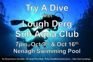 Try a Dive with Lough Derg Sub Aqua Club