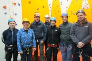 upper limits climbing wall upperchurch