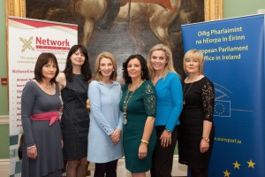 Pictured left to right are Margaret Ryan (Treasurer Network Ireland, Camelia Shanahan)Network Tipperary), Jean O'Sullivan (Enterprise Irealnd) Margaret Ryan Murray (President Network Tipperary), Joan McGowan (VP Network Tipperary), Margaret McLoughnay (AIB Nenagh)