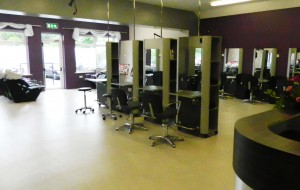 View of the New State of the Art Hair Salon at Templemore College of Further Education