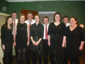 Devils Bit Set Dancing group who won the Tipperary round of the National Talent Competition recently.
