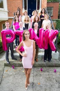 Irish Cancer Society 'Pink Partners' are fighting breast cancer as part of Paint it Pink 2015