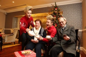 """Jedward launch ALONE Christmas Campaign """"share your presence this Christmas"""""""