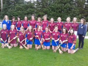 St. Josephs College Borrisoleigh through to Munster Intermediate Camogie Final