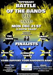 Tipperary Battle of the Bands 2015