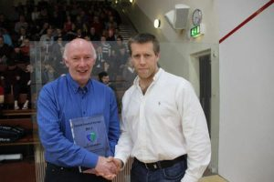 Thurles Coach Gerry Connaughton Awarded Irish Squash Coach of the Year Award