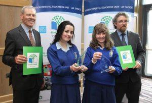 Three Tipperary Schools Among Winning Entries of Green-Schools Water Award Winners