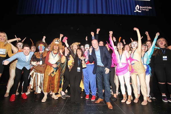 Thurles school scoops top accolade the Bord Gáis Energy Student Theatre Awards