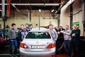 Carrick-on-Suir Student Drives Into The Future With Self-Driving Car Project At Waterford Institute of Technology