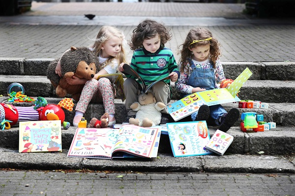 Little Readers Millie (4), Zane (5) and Doireann (5), let their imaginations run wild as they launch the Bord Gais Energy Little Readers programme. Bord Gais Energy is giving away 5,000 free books to children all across Ireland aged 5 and under. To avail of a free story book, simply register now www.bordgaisenergybookclub.ie.
