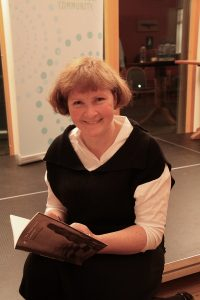 Eleanor Hooker, photograph by Gerardine Wisdom Dromineer Literary Festival