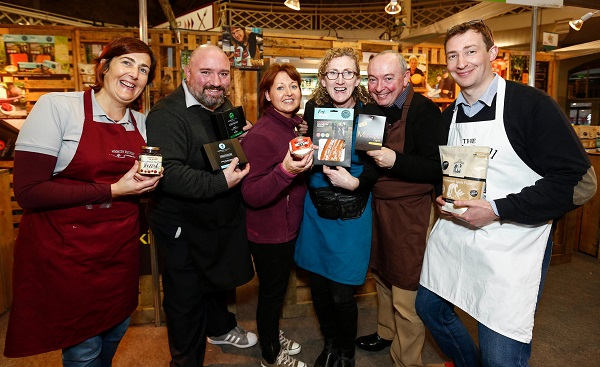 Some of the artisan producers at the Bite Food Festival at the RDS. Over 20,000 Irish food and drink lovers are expected to attend the second annual Festival, showcasing the best of Ireland's artisan food and drink producers, between November 18-20. Picture Conor McCabe Photography.
