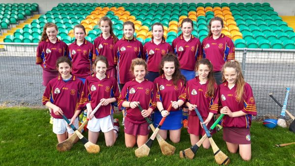 1st and 2nd year Camogie '16-'17