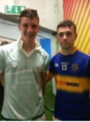 Billy McCarthy and Conor Lanigan (both Thurles Sarsfields)