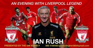Liverpool Legend Ian Rush Comes To Nenagh Arts Centre