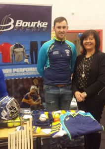 Cathal Bourke of Bourke Sports and Rita Guinan CEO Local Enterprise Office pictured at Thurles Enterprise Town evnt