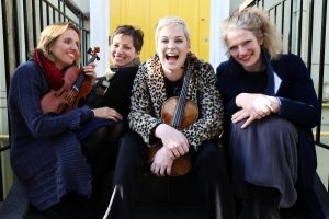 Music Network Presents An All-Violin Quartet At Birr Theatre & Arts Centre