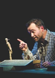 The Curious adventures of Pinocchio at the Nenagh Arts Centre