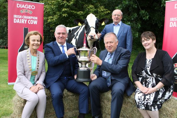 Co. Tipperary Dairy breeders prepare to compete for €10,000 Prize Fund as Diageo and Glanbia Ireland launch 2017 Baileys Cow