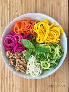 Oodles of (Veggie) Noodles - salad
