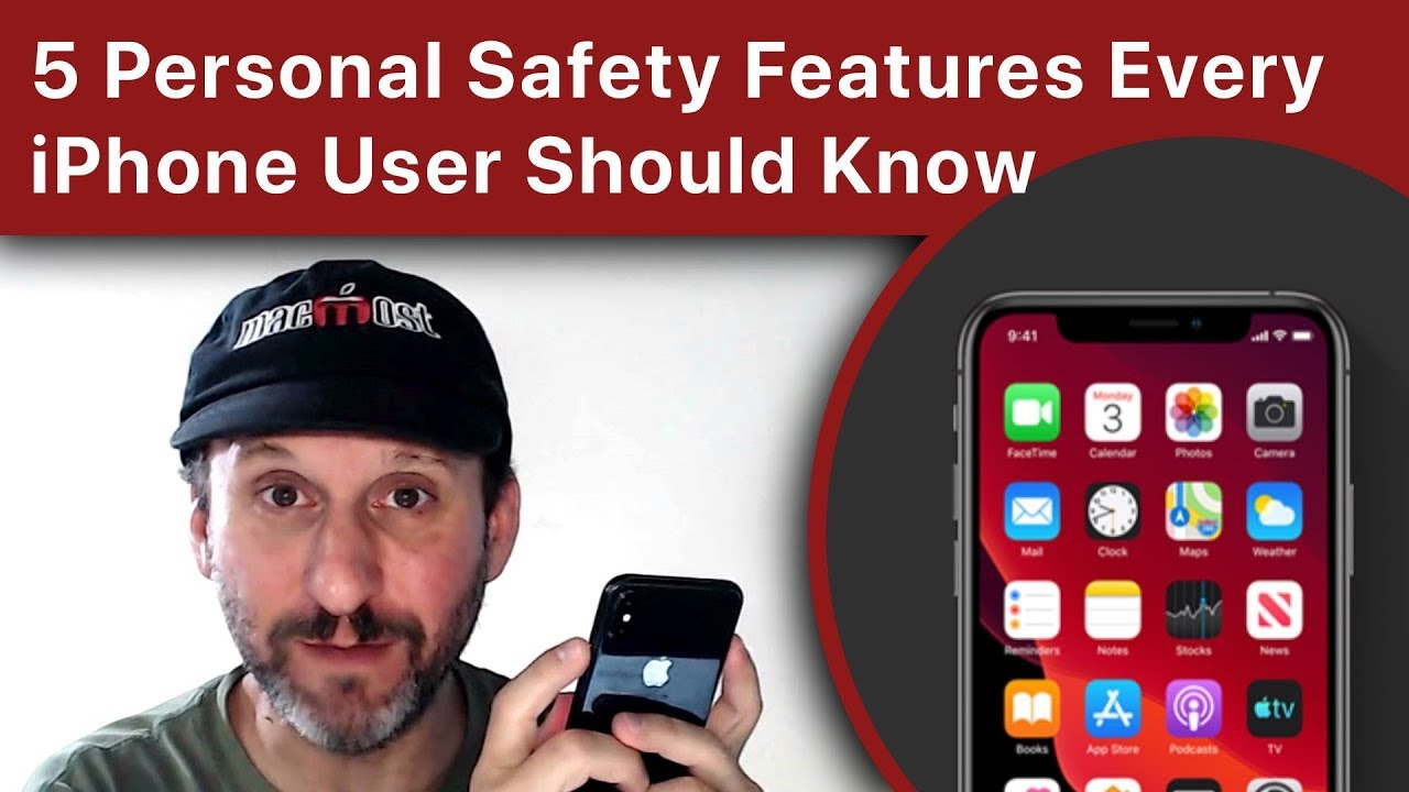5 Personal Safety Features Every iPhone User Should Know