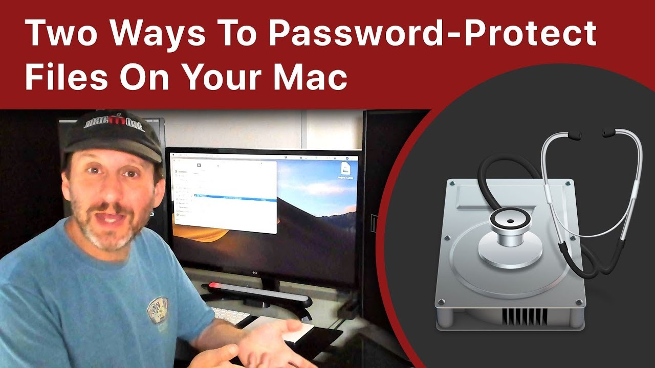 Two Ways To Password-Protect Files On Your Mac